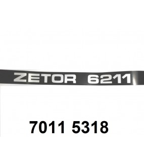 autocollant ZETOR 6211 gauche