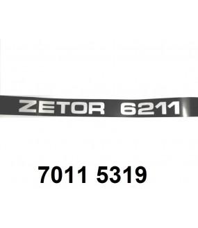 autocollant ZETOR 6211 droit