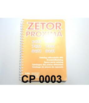 catalogue pièces détachées Proxima 6421/78441