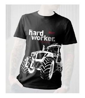 Tee shirt noir Hard Worker