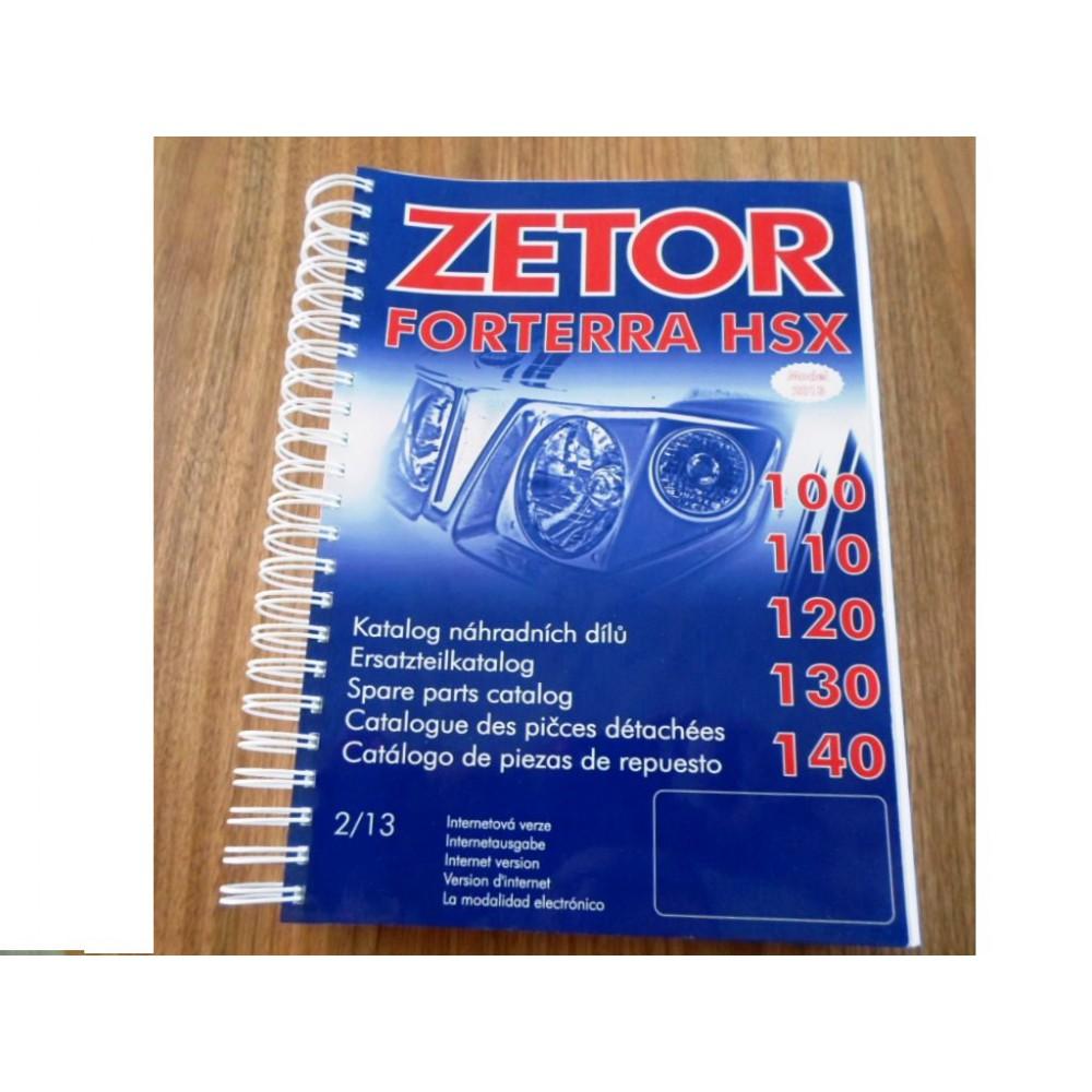 catalogue de pièces FORTERRA HSX 2013