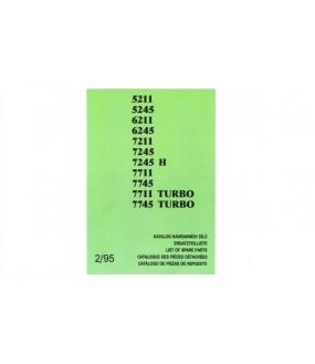 Catalogue pièces détachées gamme 12