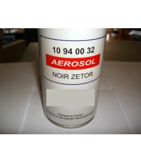bombe de peinture 400 ml noirZetor