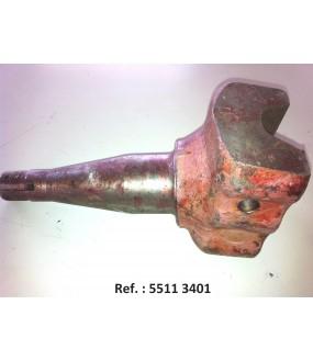 fusée de roue avant 6 vis (5511-5711/18, 6711/18, 59/6911, 62/7211