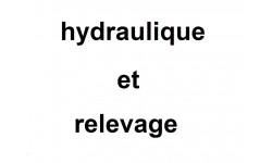 hydraulique et relevage