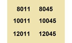 8011 à 12045
