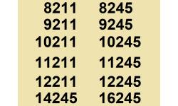 8211 à 16245